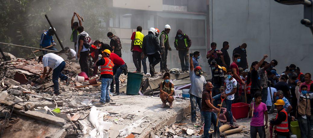 メキシコ地震被害 緊急救援募金